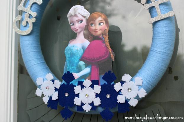 Frozen Door Wreath Bottom