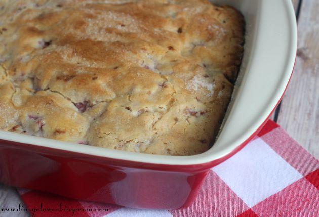 Raspberry Buttermilk Breakfast Cake