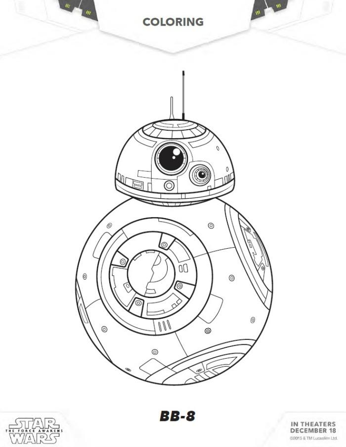 Star Wars   Coloring Sheets ...