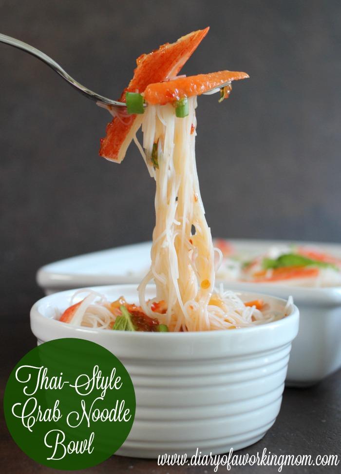 Thai Style Crab Noodle Bowl