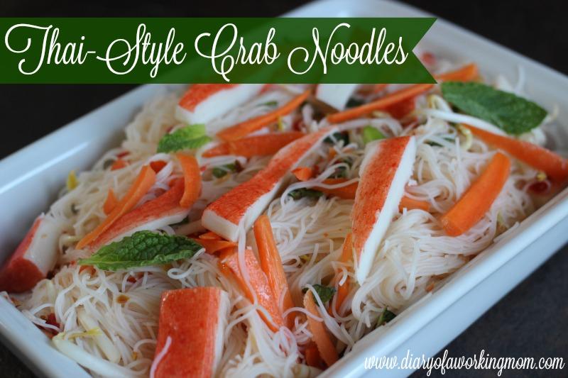 Thai Style Crab Noodles