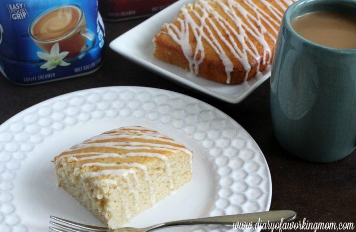 French Vanilla Coffee Cake {Recipe}